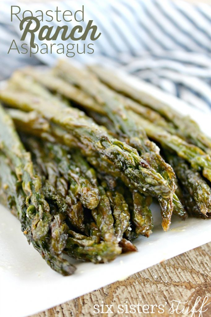 Roasted Ranch Asparagus 1