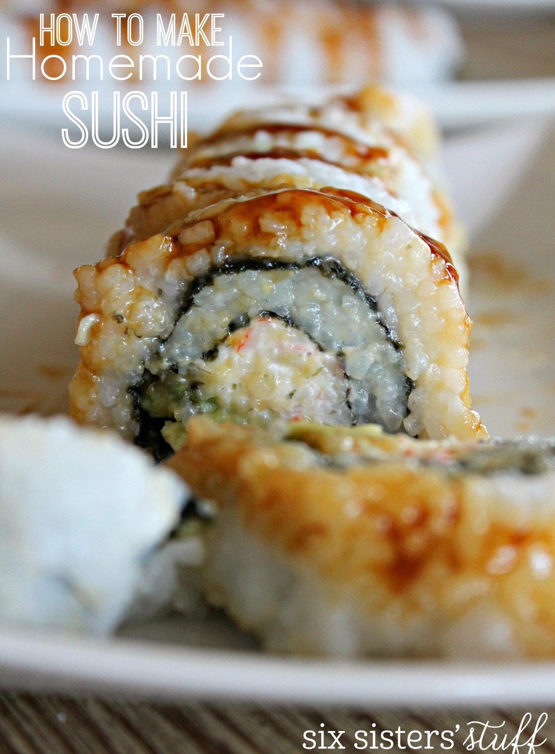 How to Make Homemade Sushi (Crab Sushi)