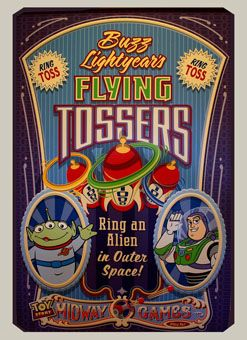 Toy Story Flying Tossers