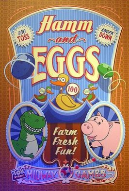 Toy Story Hamm and Eggs