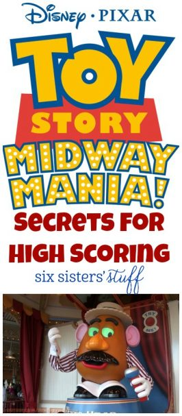 Disneyland's Toy Story Midway Mania Secrets for High Scoring