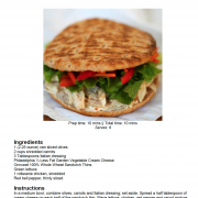 chicken vegetable pita recipe