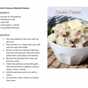 garlic parm mashed potatoes