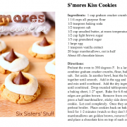 s'mores kiss cookies