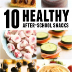 10 Healthy After-School Snacks