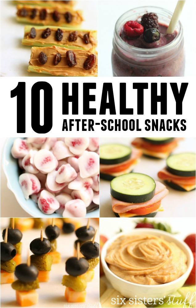 10 Healthy After-School Snacks