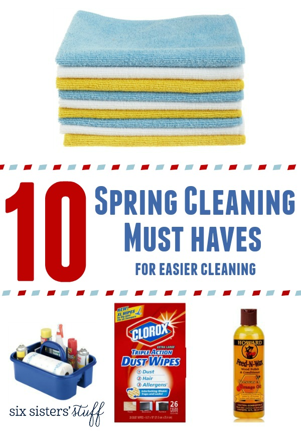 10 Spring Cleaning Must Haves