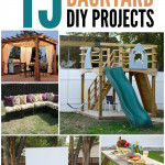 15 Awesome Backyard DIY Projects on SixSistersStuff.com