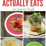20 Healthy Snacks on SixSistersStuff