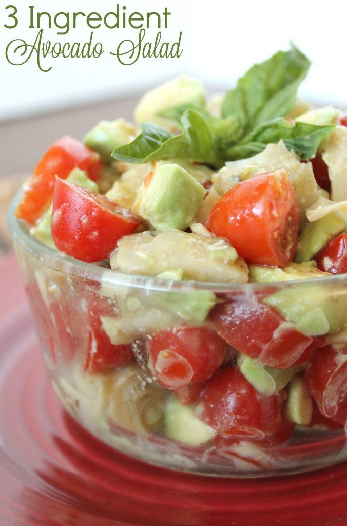 3 Ingredient Avocado Salad 3