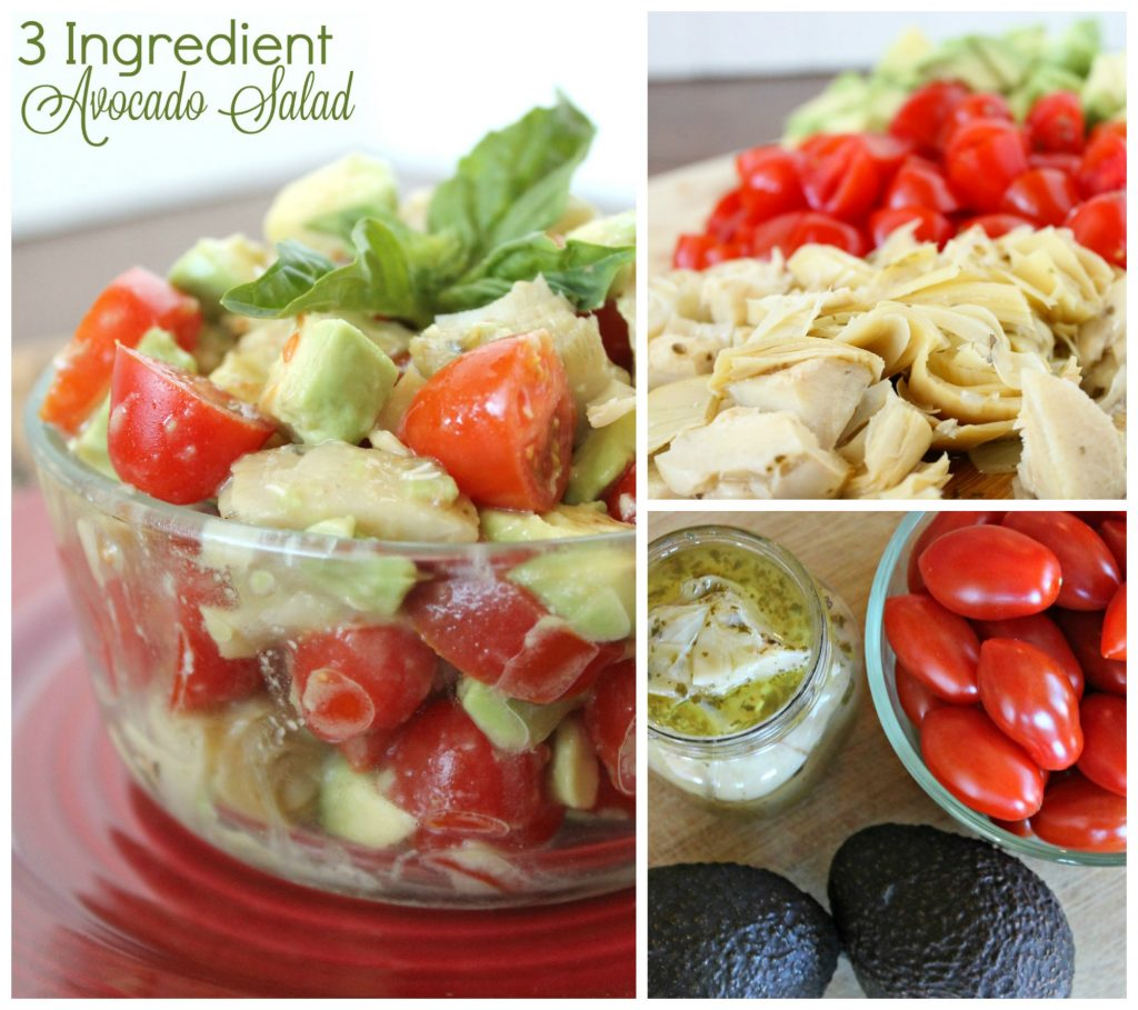 3 Ingredient Avocado Salad 4