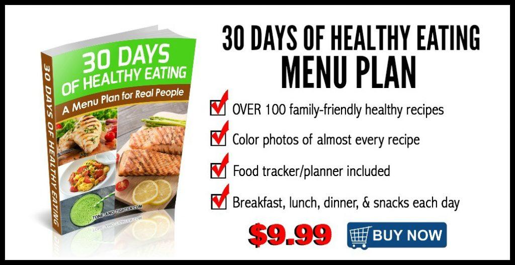 30 Days of Healthy Eating Menu Plan