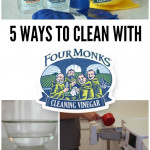 5 Ways to Clean with Four Monks Cleaning Vinegar