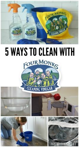 Our 5 Favorite Ways to Use Four Monks™ Cleaning Vinegar