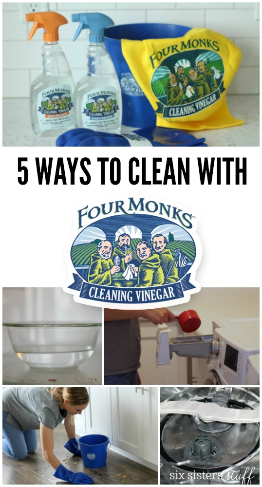 Our 5 Favorite Ways to Use Four Monks? Cleaning Vinegar