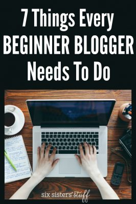 7 Things Every Beginner Blogger Needs To Do