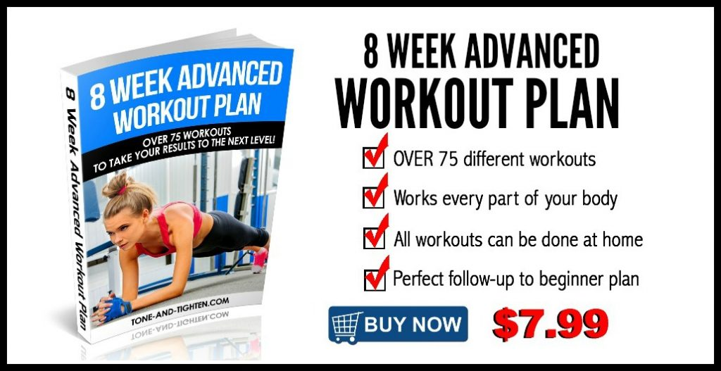 8 Week Advanced Workout Plan