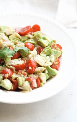 how to make avocado salad with 3 ingredients