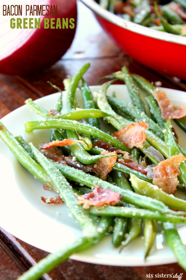 how to cook fresh green beans with bacon grease