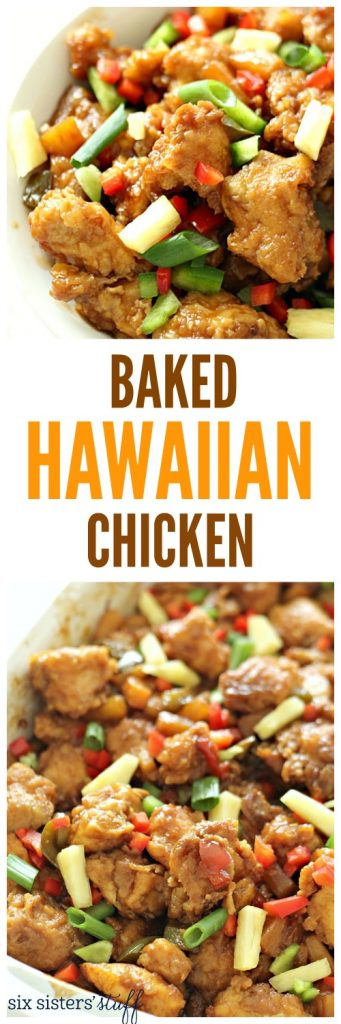 Baked Hawaiian Chicken from SixSistersStuff