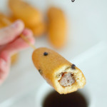 Breakfast Corn Dogs from SixSistersStuff.com