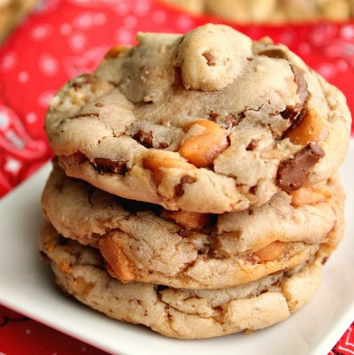 Butterscotch Toffee Cookies 3