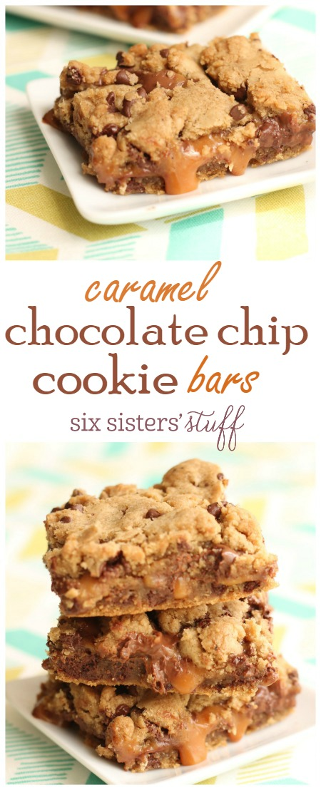 Caramel Chocolate Chip Cookie Bars 2