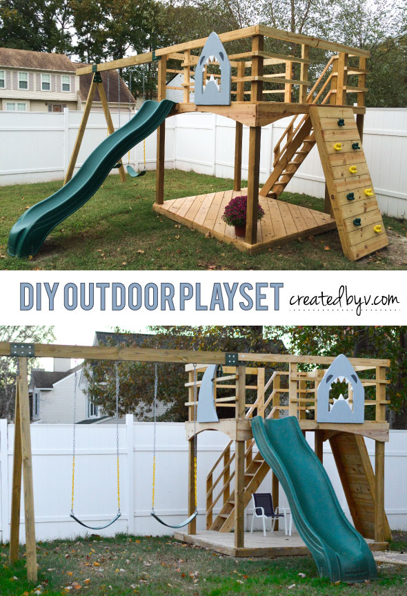 DIY-Outdoor-Playset
