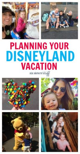 Planning Your Family Trip to Disneyland