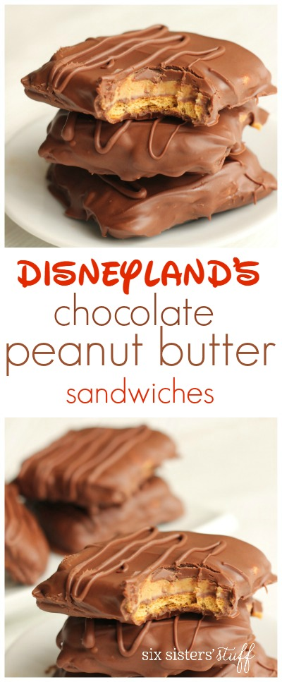 Disneyland's Chocolate Peanut Butter Sandwiches 3