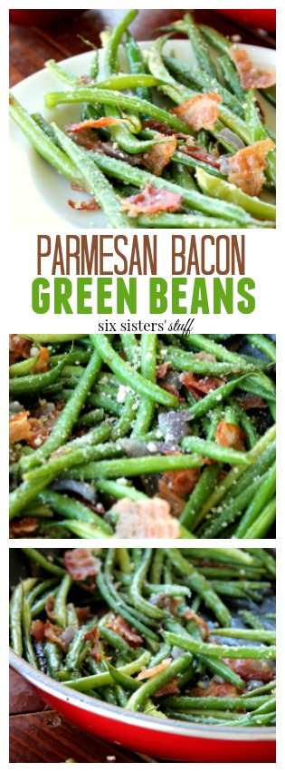 Parmesan Bacon Green Beans pin