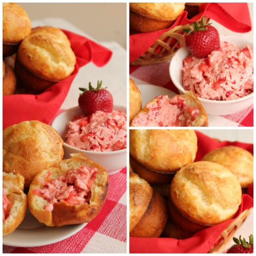 Popovers with Strawberry Butter 3