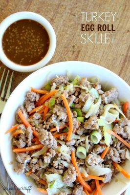 Turkey Egg Roll Skillet