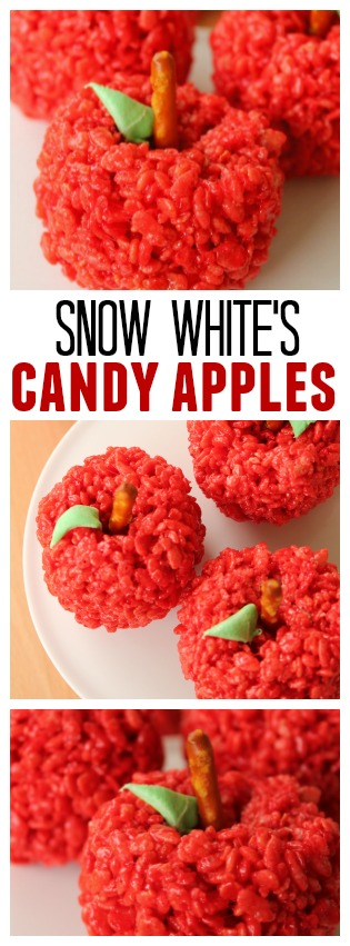 snow white's candy apples pin