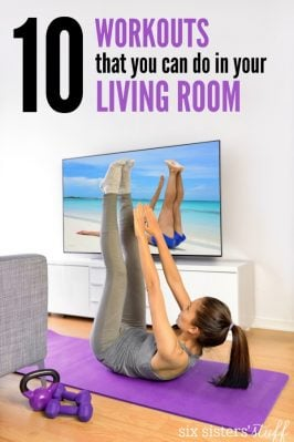 10 Workouts You Can Do In Your Living Room
