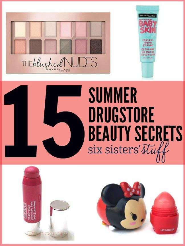 15 Summer Drugstore Beauty Secrets