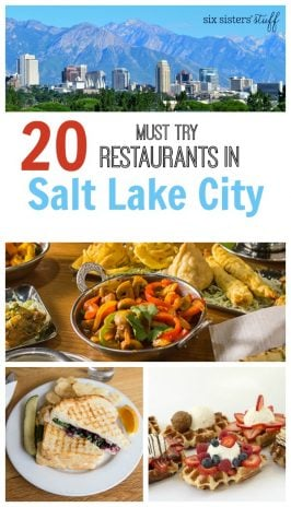 20 Must Try Restaurants in Salt Lake City