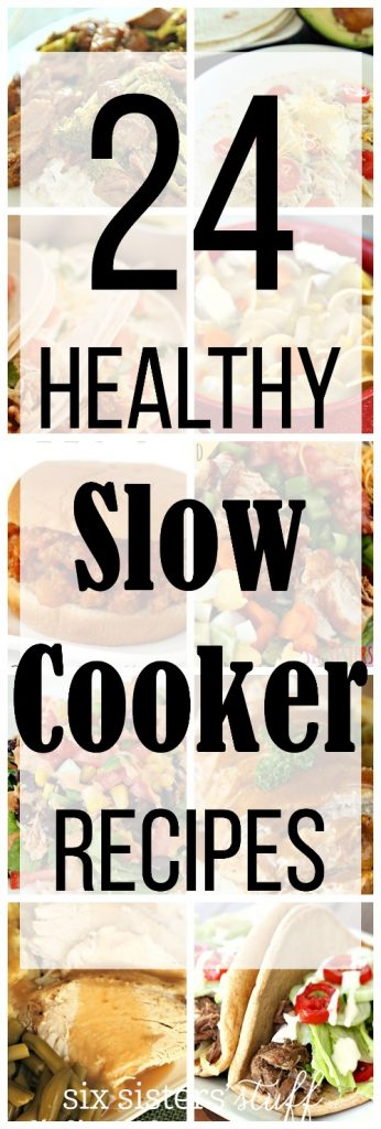 24 Healthy Slow Cooker Recipes - SixSistersStuff