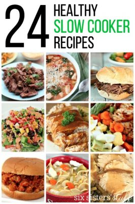 24 Healthy Slow Cooker Recipes