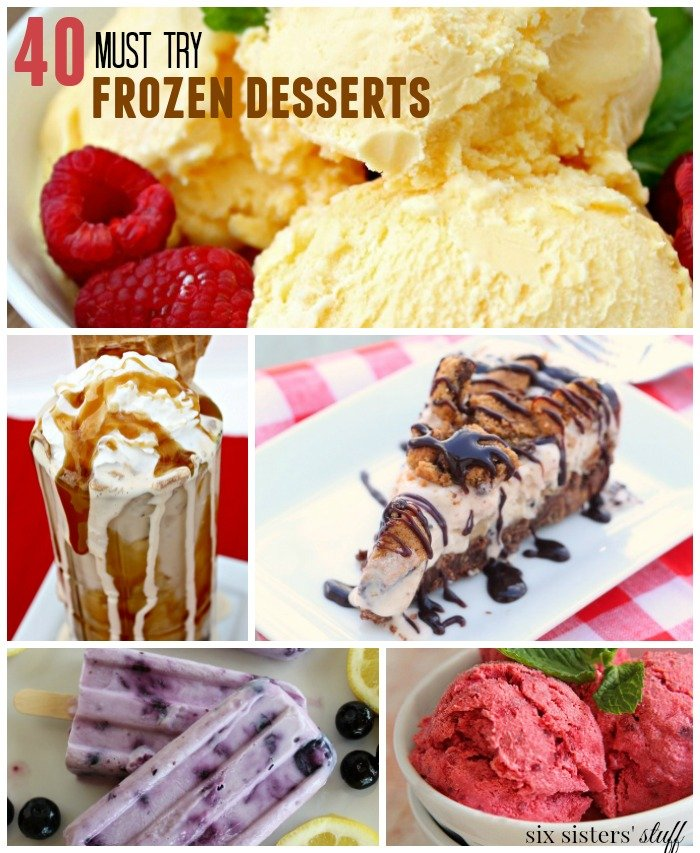 40 must try frozen desserts