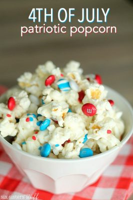 4th of July Patriotic Popcorn