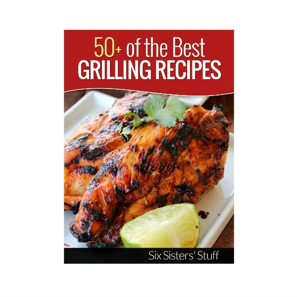 50 of the Best Grilling Recipes eCookbook Title Image