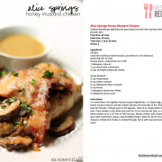 Alice Springs Chicken eCookbook