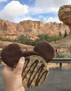 California Adventure Mickey Cookie
