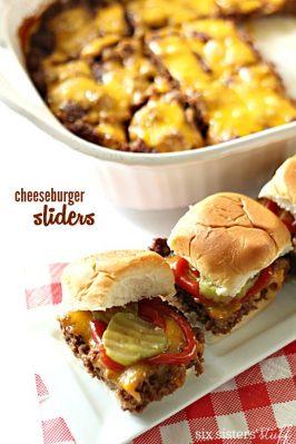 Baked Cheeseburger Sliders