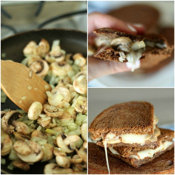 Delicious Mushroom Swiss Melt from SixSistersStuff.com