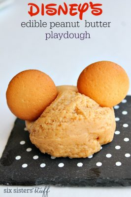 Disney's Edible Peanut Butter Playdough