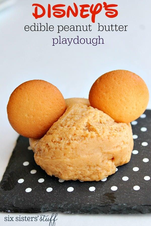 Disney's Edible Peanut Butter Playdough