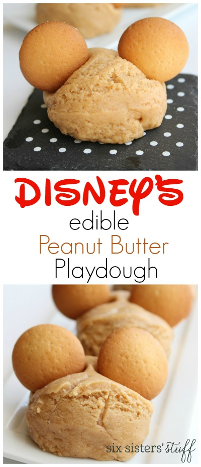 Disney's Edible Peanut Butter Playdough 2