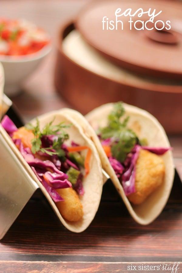 Quick easy fish tacos healthy chicken recipes for Fish tacos recipe easy